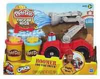 Игровой набор Плей до Play-Doh набор Пожарная машина, Бумер пожарная машина