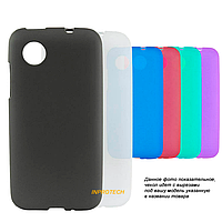 Чехол-накладка Silicon Case для Alcatel Pop C3 Black
