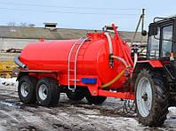 Металлическая бочка ВНЦ-16 для перевозки воды и жидких удобрений
