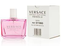 Тестер. Женская парфюмированная вода Versace Bright Crystal Absolu (Версаче Брайт Кристалл Абсолю) 90 мл