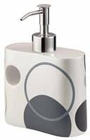 Дозатор для жидкого мыла (коллекция Circle), Bisk