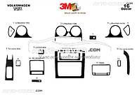 Накладки на панель для VolksWagen Caddy 2010-2015, 16 элем