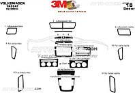 Накладки на торпеду декоративные декор VolksWagen Passat B6
