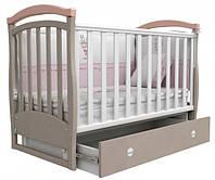 Ліжко Верес ЛД6 Сонька маятник/ш рожевий