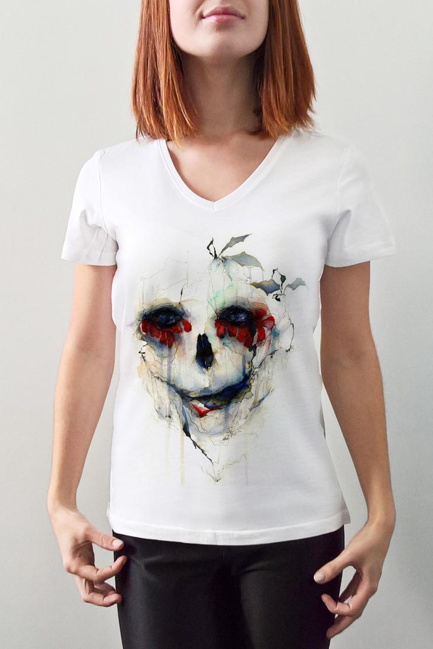 """Женская футболка """"Череп"""""""