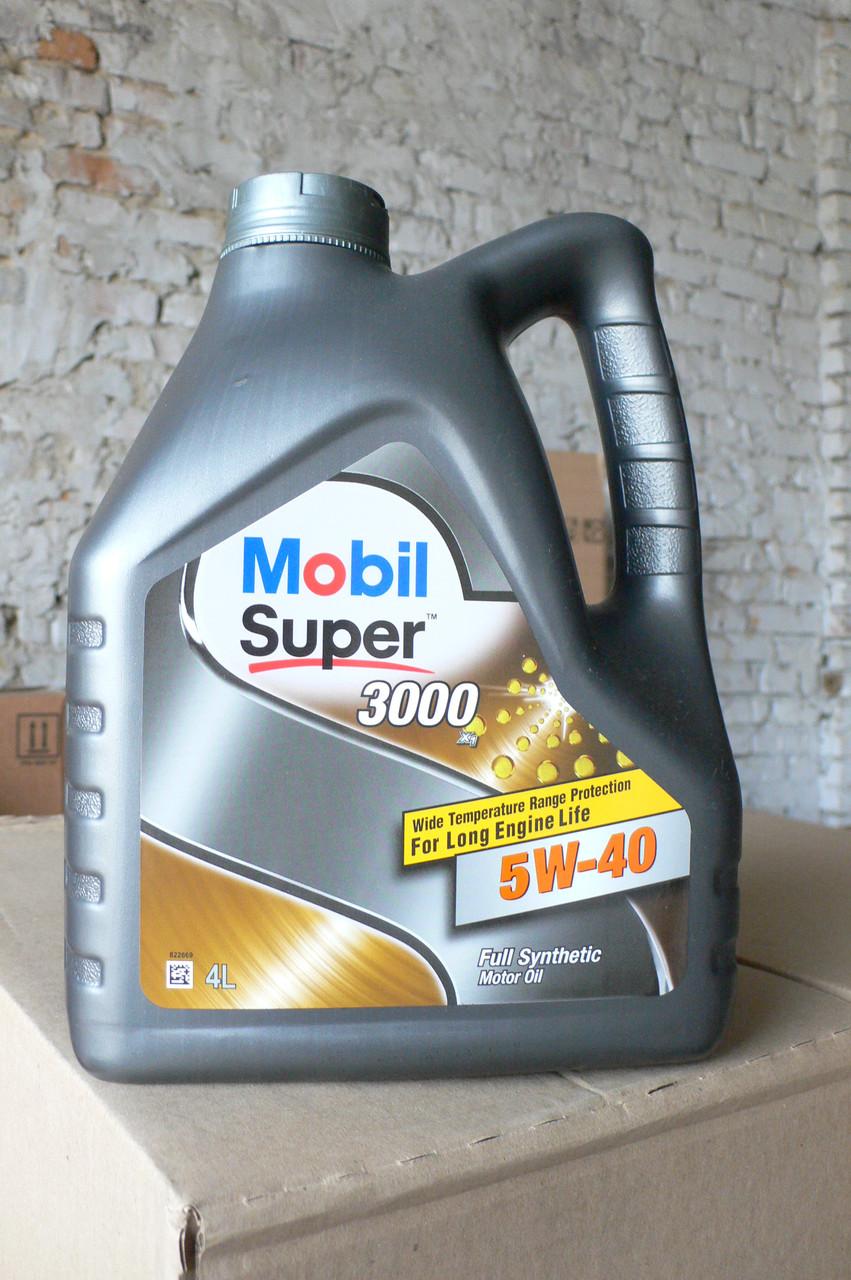 Масло моторное синтетическое Mobil Super 3000 5w-40 (4 литра) - EUROMAX в Волынской области