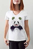 "Женская футболка ""Панда джокер"""