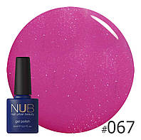 Гель-лак NUB № 067 Lovely Color, 8 мл