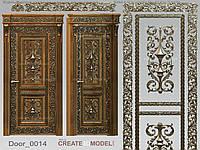 Декор резной для дверей. Д 005