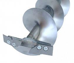 Ледобур Титановый ТЛР-150СД-2Н, вечный и легкий, отличный выбор, диаметр 150 мм, фото 3