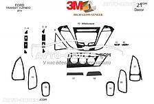 Тюнинг панели проборов (торпедо) Ford Tourneo Custom из 21 элем