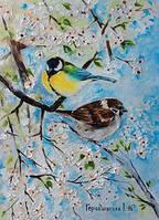 Красивая открытка для посткроссинга Алыча, фото 1