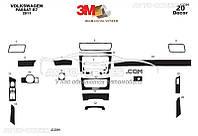 Накладки на торпеду декоративные декор VolksWagen Passat B7