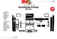 Накладки на торпеду декоративные декор VolksWagen Touareg 2010-2017