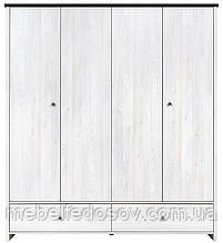 Шкаф платяной SZF4D2S Порто  (BRW/БРВ Украина)