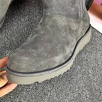 Женские угги UGG Abree серые топ реплика, фото 3