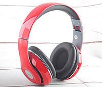 Беспроводные bluetooth наушники Havit HV-H2561BT + FM +MP3 плеер, красные