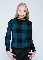 Женский осенний свитер вязаный