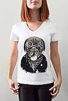 """Женская футболка """"Собака"""""""