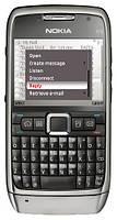 Оригинальный телефон Nokia E71 silver