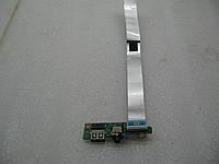 Плата з розємом USB і Аудіо Lenovo IdeaPad U310