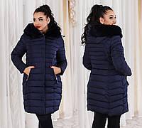 Ж858 Куртка зимняя на холлофайбере батал в расцветках