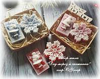 "Набор мыла ""Дед мороз со снежинкой"", фото 1"