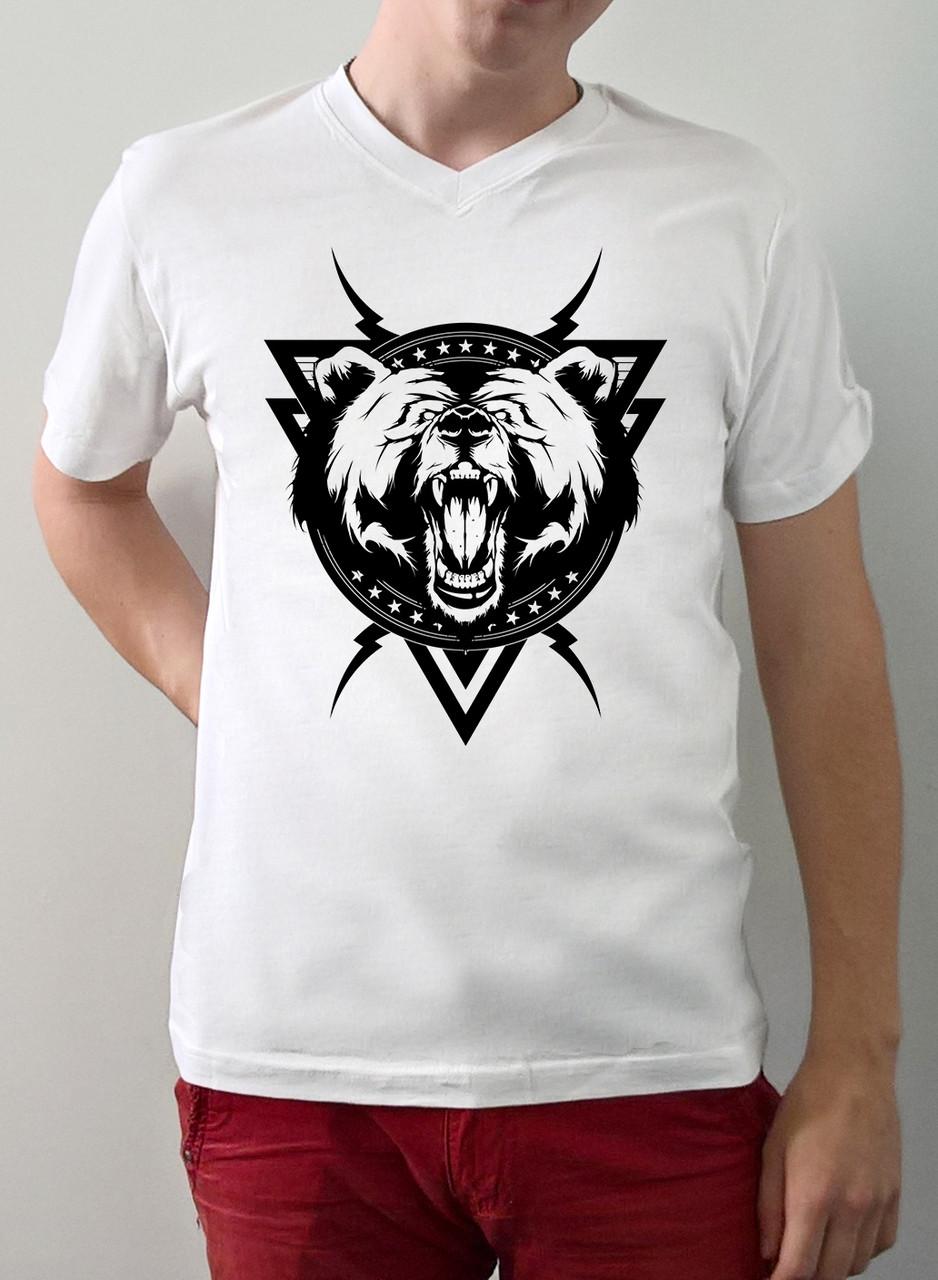 "Мужская футболка ""Медведь"""