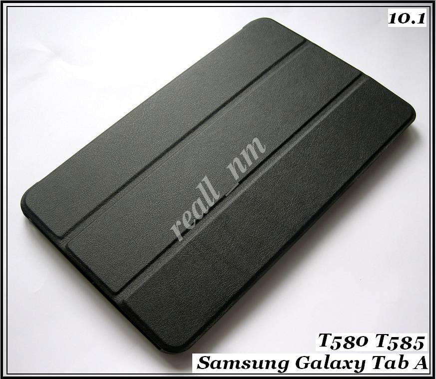 Бизнес чехол книжка для Samsung galaxy Tab A 10.1 2016 black (черный) SM-T585NZKA (T585)