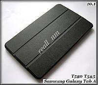 Бизнес чехол книжка для Samsung galaxy Tab A 10.1 2016 black (черный) SM-T585NZKA (T585), фото 1