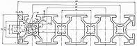 Алюминиевый станочный профиль 30x120 мм АД31 Т5