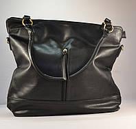 Женская сумка черная мешок, хобо на плечо ERICK 15678