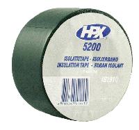 Изоляционная лента 50mm x 33m, черная ПВХ 5200 (HPX)