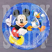 Тарелки детские Микки Маус 23 см (10 шт)