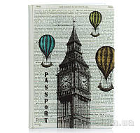 Обложка для паспорта ZIZ Лондон-Париж ZIZ-10079