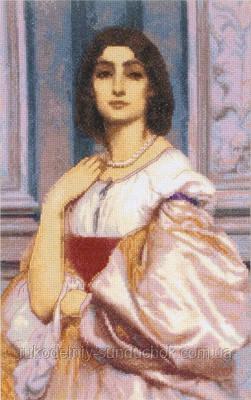 """Набор для вышивки крестом """"Panna"""" Римская женщина ВХ-0583"""