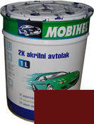 Автокраска (автоэмаль) Mobihel акрил 0,75л 127 Вишня.