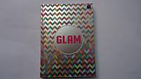 """Блокнот-ежедневник """"Glam"""" тв.обл,фольга,А5,96 лис,клетка,поля Interdruk в твердом переплете .Блокнот для нотат"""