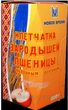 """Клетчатка зародышей пшеницы с яблочным пектином """"Пектосорб"""",300г"""