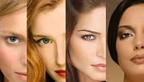Типы внешности женщин по теориям Иттена и Кибби
