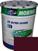 Автокраска (автоэмаль) Mobihel акрил 0,1л 180 Гранат.