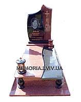 Одинарний гранітний пам´ятник 1116