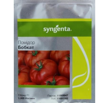 Томата Бобкат F1 (Syngenta) 1 000 семян — средне-ранний (60-65 дня), красный, детерминантный, круглый