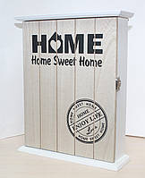"Ключница настенная деревянная ""Sweet Home"". Подарки в стиле Прованс"