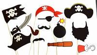 """Набор фото бутафории """"Пираты"""" для детских праздников"""