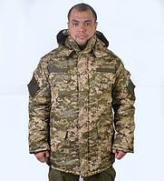 """Утеплений  камуфльований бушлат """"Українська  цифра"""""""
