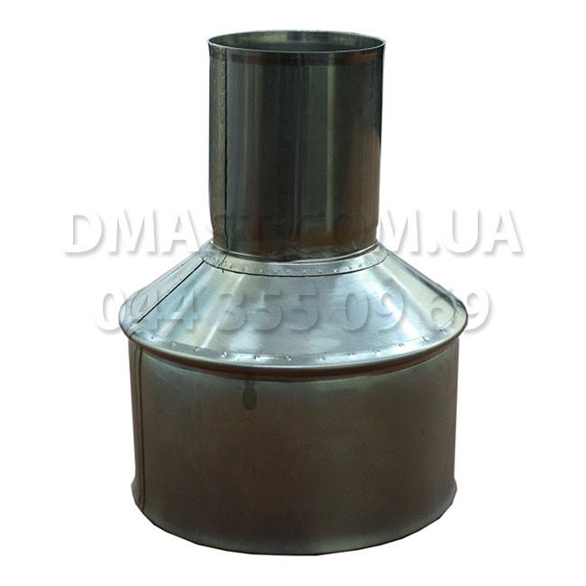 Переходник (Редукция) для дымохода ф140 из нержавеющей стали