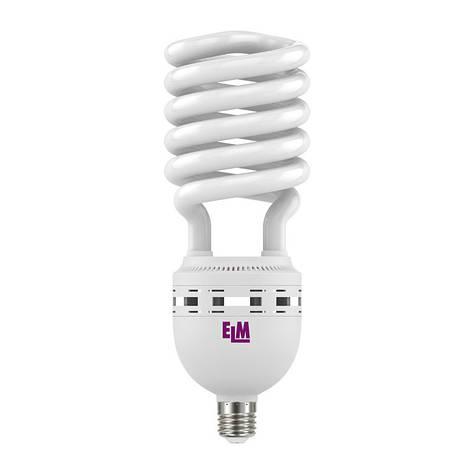 Лампа энергосберегающая  65W E27 4000K H-SPIRAL ES-11, фото 2