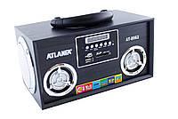 Радиоприемник цифровой Atlanfa AT-8962 (USB, SD, FM стерео)