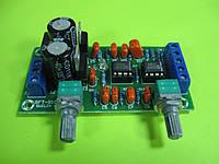Предварительный усилитель НЧ на двух микросхемах NE5532 SFT-B100
